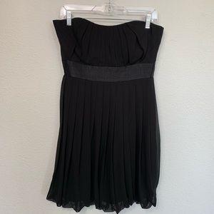 WHBM strapless little black dress
